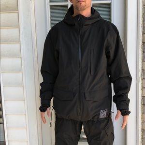 Neff Black Snowboard Jacket and Pants